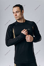 Термобелье Мужское, спортивное Черное ( комплект термобелья ), фото 2