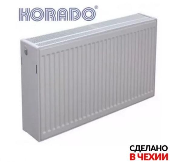 Радиатор стальной 33VK 300X2000 Korado с нижним подключением