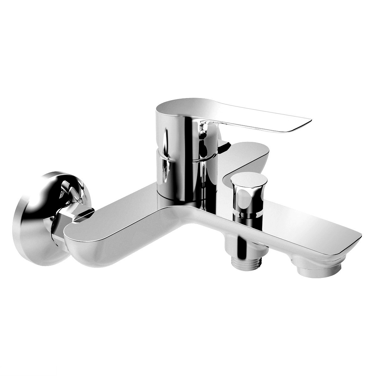 KUCERA змішувач для ванни, хром 35мм