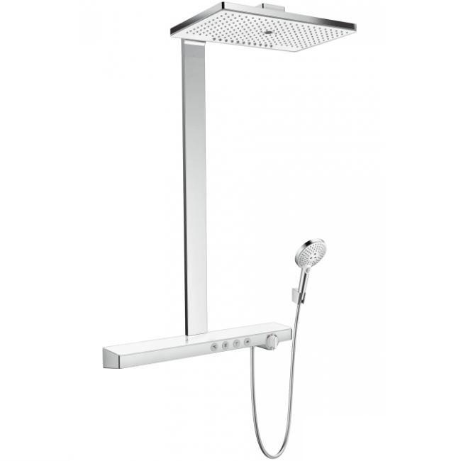 Rainmaker Select 460 3jet Showerpipe для душу, білий/хром