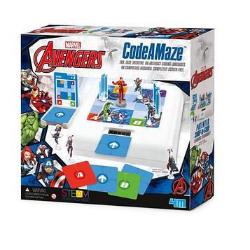 🔥 Набор для обучения детей программированию 4M Avengers Мстители (00-06205)