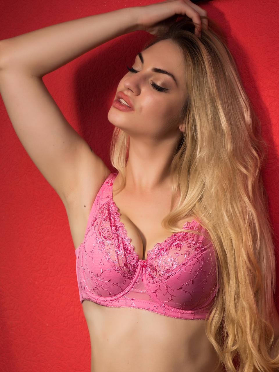 Бюстгальтер Diorella 35121E, цвет Розовый, размер 90E