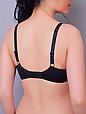 Бюстгальтер Diorella 61198D, цвет Черно-Коричневый, размер 75D, фото 2