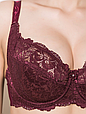Бюстгальтер Diorella 61583D, цвет Бордовый, размер 85D, фото 3