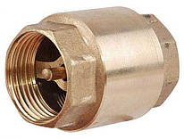 Обратный клапан ВВ 1/2 латунный диск -  STA