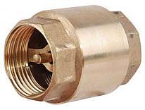 Обратный клапан ВВ 3/4 латунный диск -  STA