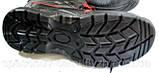 Ботинки зимние Черевики зимові робочі утеплені штучним хутром зі сталевим підноском 40.41,43,44,45,46, фото 3