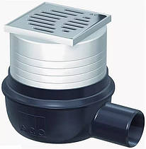 Трап ACO Easy Flow 2505.05.77 100х100 мм