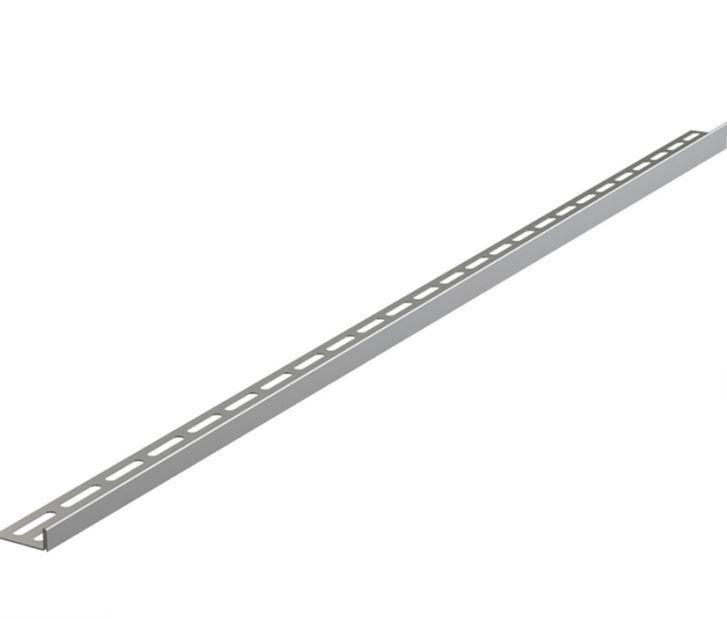 Рейка из нержавеющей стали для пола с уклоном AlcaPlast APZ902M/1000
