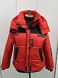 Куртка жіноча зимова модель 29, розміри від 42 до 56, фото 8