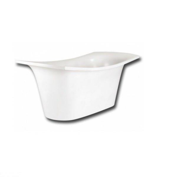 Ванна з штучного каменю PAA Ванна BEL CANTO 180x85, біла, з сифоном