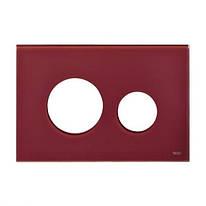Кнопка для смыва Tece 9.240.679 loop панель лицевая к клавише смыва рубиновая