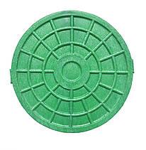 Люк-мини Ду=315мм под лоток (зелёный)