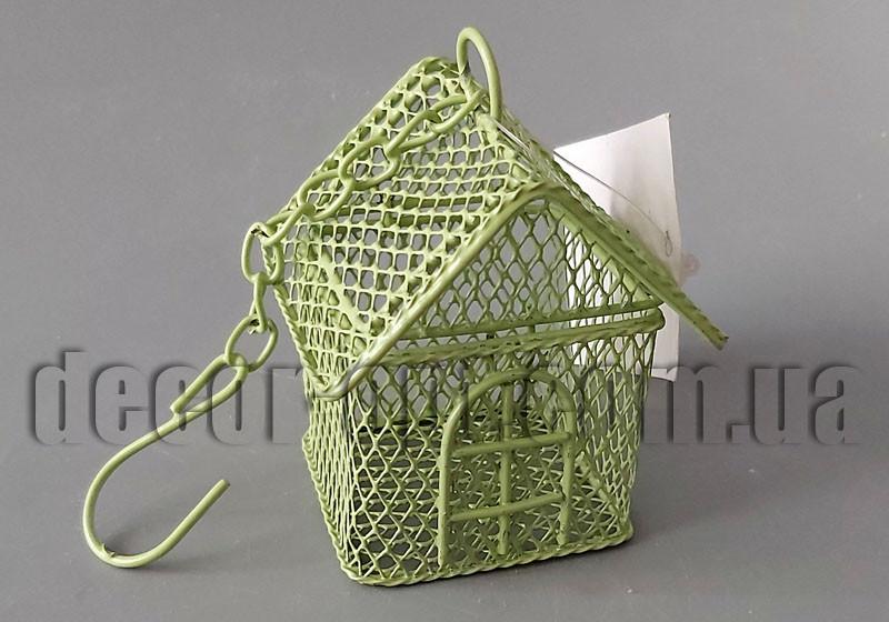 Декоративная металлическая клетка 7х5х5см