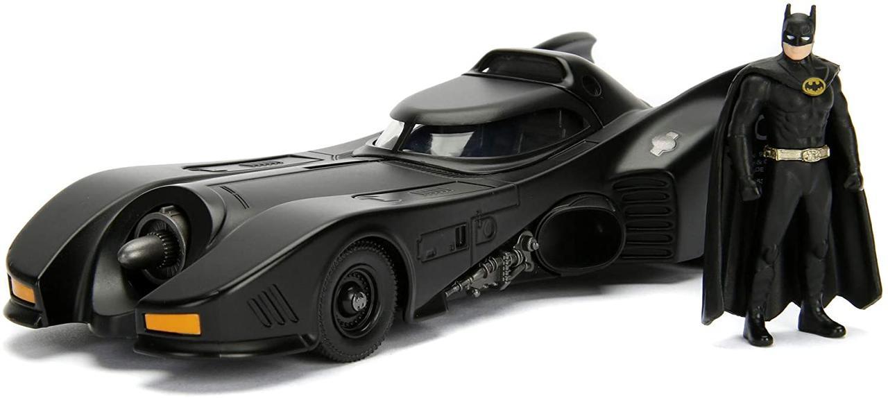 Машина металлическая Jada Бетмен 1989 Бетмобиль с фигуркой Бетмена Jada 253215002