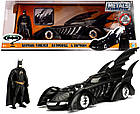 Машина металлическая Jada Бетмен навсегда 1995 Бетмобиль с фигуркой Бетмена Jada 253215003, фото 9
