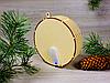 Деревянные новогодние игрушки с подсветкой из светодиодов «Рождественский орнамент - Сказочный лес» (2121), фото 3