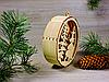 Деревянные новогодние игрушки с подсветкой из светодиодов «Рождественский орнамент - Сказочный лес» (2121), фото 2