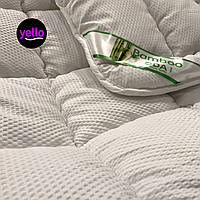 Одеяло Евро Бамбук 200х220 см.   Ковдра бамбукове волокно стьобана I Одеяло Евро размер бамбуковое волокно