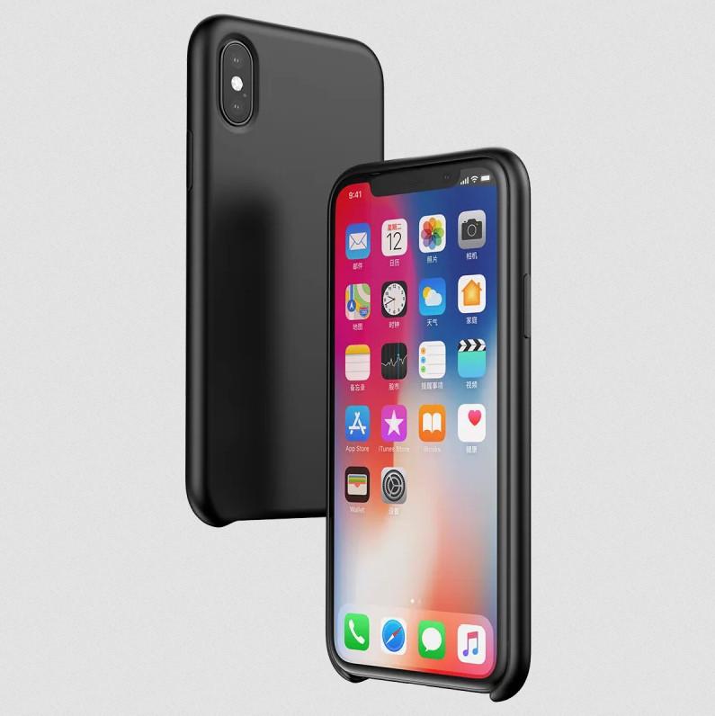 Силиконовый чехол Baseus Original LSR Case для Apple iPhone XS Max | черный | Baseus