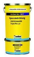 Weber.tec 827 S (Superflex 40 S), 2кг - двухкомпонентный эпоксидный гидроизоляционный раствор