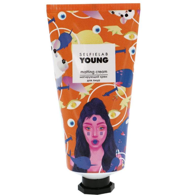 Крем матирующий для лица Selfielab Young Matting Cream 50 мл