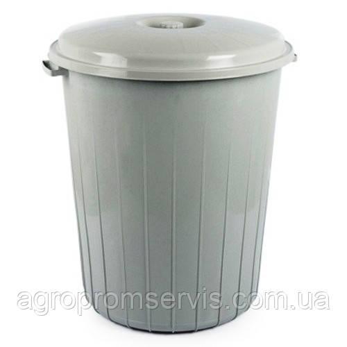 Бак для мусора 50л. (2й сорт)