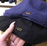 Мужская кепка реглан Zilli P0527 черная, фото 2