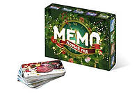 Настольная игра Нескучные Игры МЕМО Новый год + подвес на елку в подарок! (8033)
