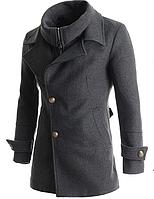 Мужское полу пальто МК 0132-И, фото 1