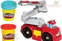 Настольная игра Hasbro Набор для лепки Play-Doh. Бумер: Пожарная машина (A5418)