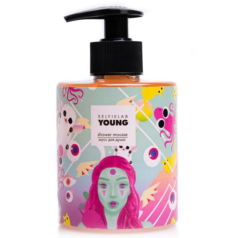 Мусс для душа Selfielab Young Shower Mousse 300 мл