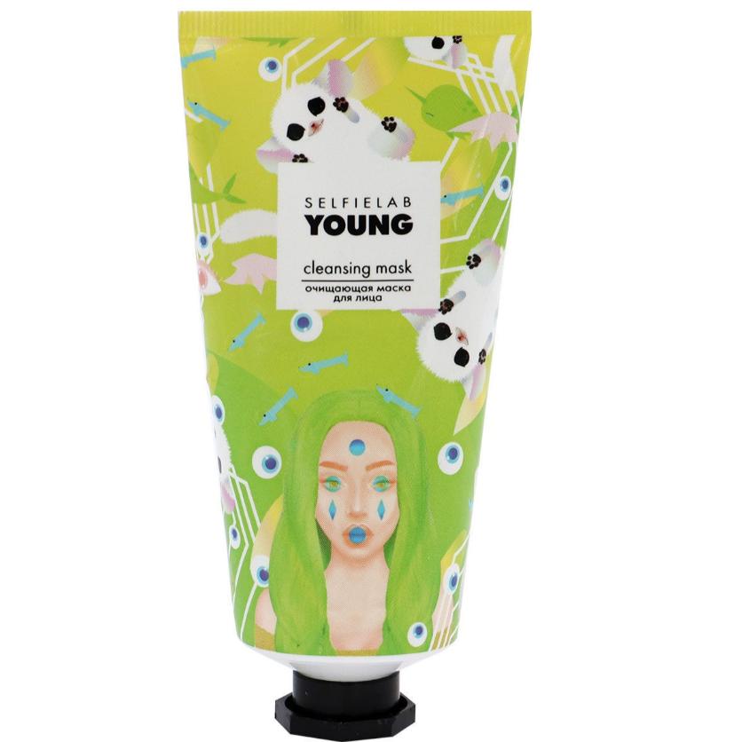Маска очищаюча для особи Selfielab Young Cleansing Mask 50 мл