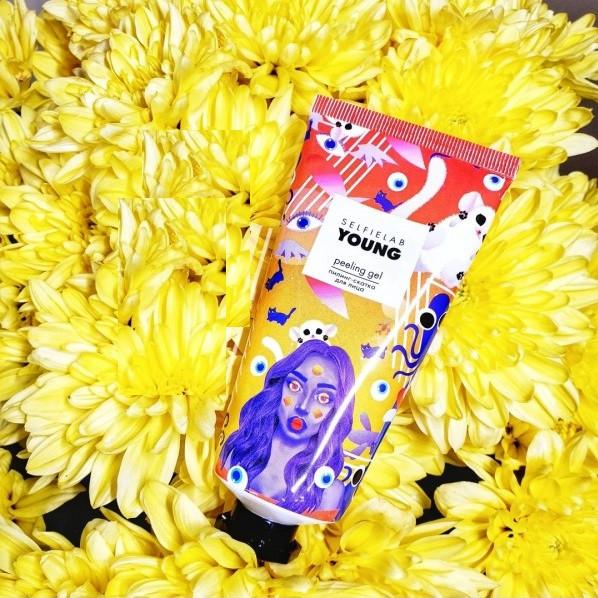 Пилинг-скатка для лица Selfielab Young Peeling Gel 50 мл