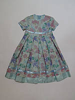 Летнее нарядное платье для девочек 110-116р