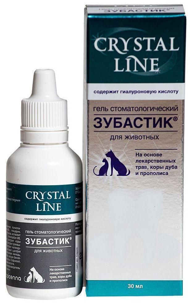 ЗУБАСТИК гель для гигиенического ухода за ротовой полостью и зубами собак и кошек, 30 мл