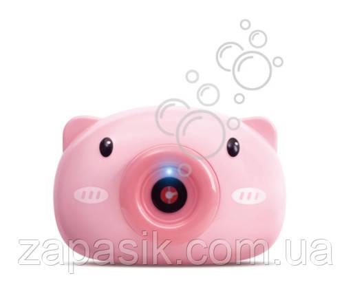 Фотоаппарат Детский Для Мыльных Пузырей Bubble Camera Генератор Мыльных Пузырей BUBBLE CAMERA