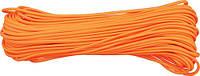 Купить со скидкой паракорд Para-cord 550 Orange моток 100ft