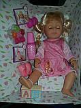 Старша сестра Warm Baby лялька пупс з волоссям Lovely Sister, фото 10