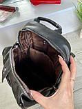 Женский рюкзак с широким ремешком Cosmo сиреневый РФК76, фото 9