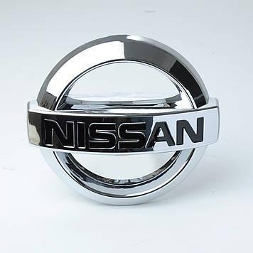"Емблема ""Nissan"" 88х75мм\пластик\скотч 3М (Teana зад)"