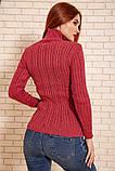 Гольф женский 117R023 цвет Темно-розовый, фото 4