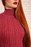 Гольф женский 117R023 цвет Темно-розовый, фото 5