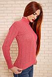 Гольф женский 117R023 цвет Розовый, фото 3