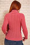 Гольф женский 117R023 цвет Розовый, фото 4