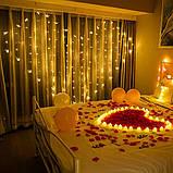 Ночник в детскую комнату сердцу из бабочек 3х2 м Золотой, фото 5