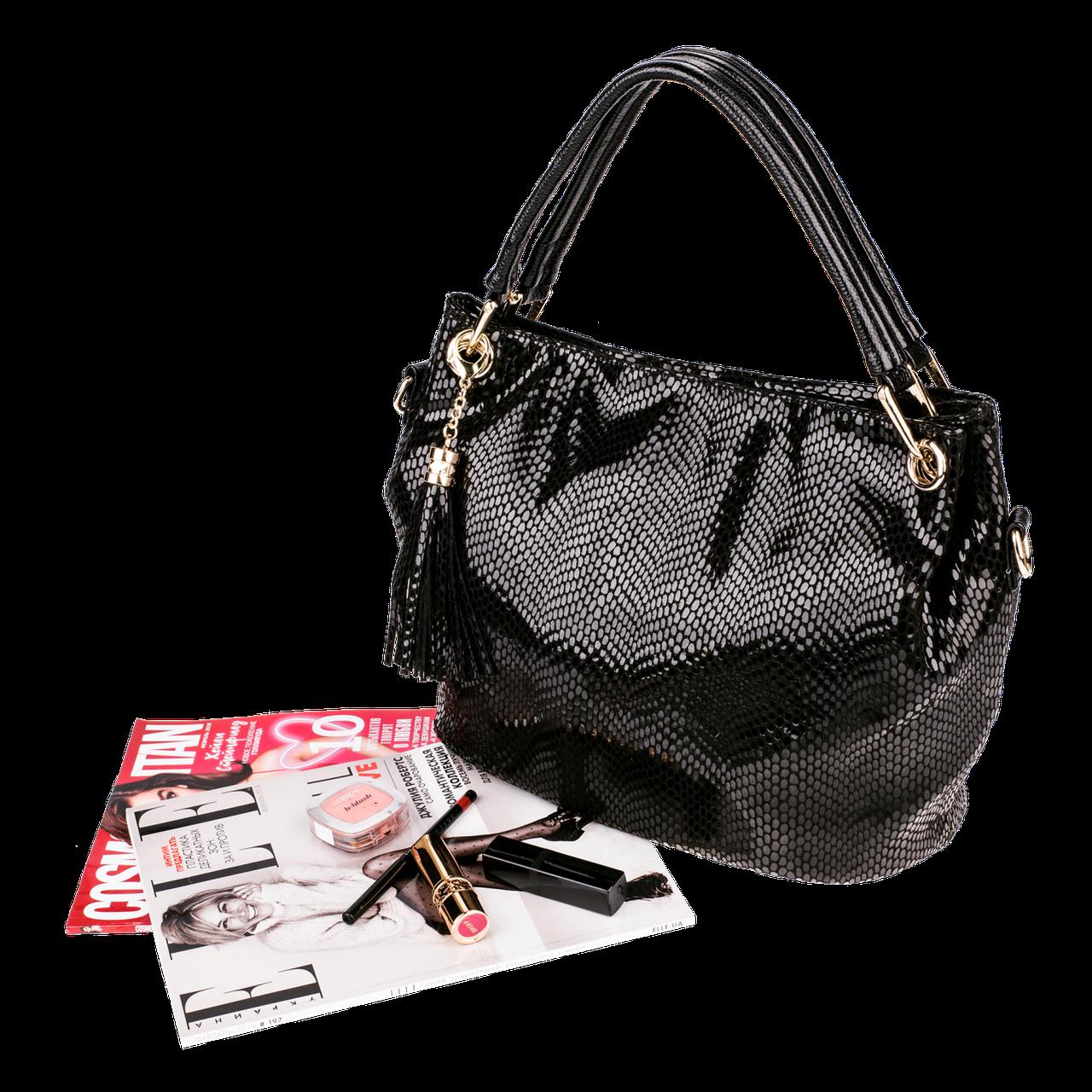 Женская сумка Realer P008 черная