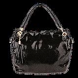 Женская сумка Realer P008 черная, фото 2