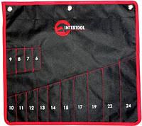 Чехол для гаечных ключей 14 карманов Intertool  BX-9009