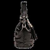 Женская сумка Realer P008 черная, фото 4